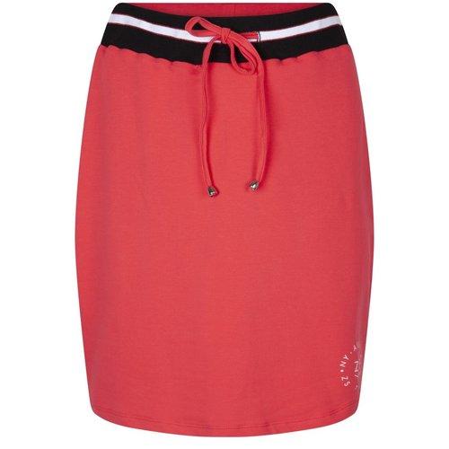 Zoso Skirt with waistband 193Skita black red