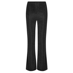 Ydence YDENCE Lurex flair pants black Britt AW9010