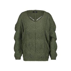 Ibana Ibana sweater Adeline green 301930078