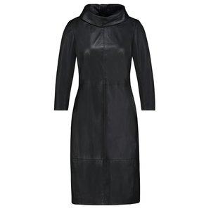 Ibana Ibana leather dress Erin black 301930011