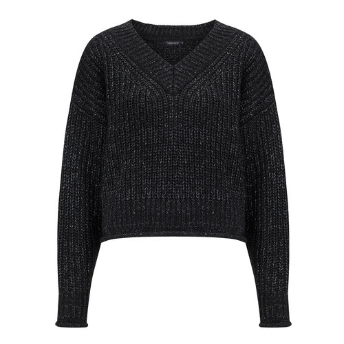 Ydence Ydence knitted sweater Jill black