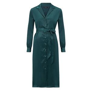Ydence Ydence satin maxi dress Cynthia green