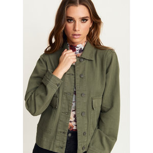 Rut&Circle Rut&Circle Lona jacket 19-05-96 khaki green
