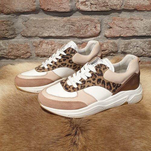 BullBoxer Bullboxer sneaker leopard wit 295003E5LA