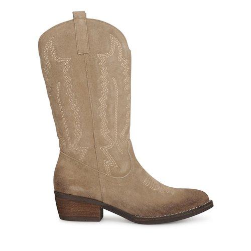 Poelman Poelman western boots CLSHN9029-08APOE cappuccino