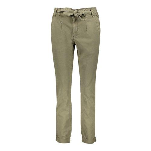 Geisha Geisha pants with strap 01018-10 army