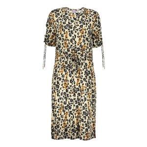 Geisha Geisha dress leopard 07051-42 beige/black