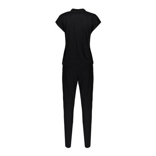 Geisha Geisha jumpsuit Cleo solid 01077-60  black