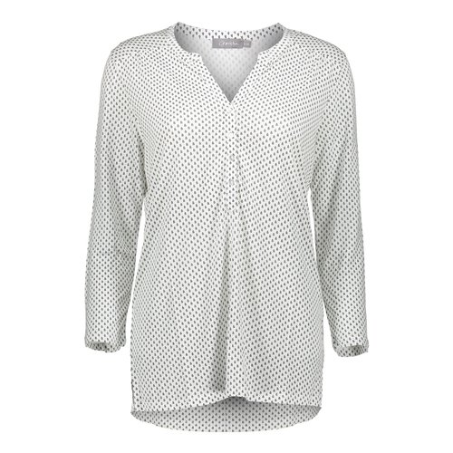 Geisha Geisha t-shirt jersey AOP 02108-61 white/black