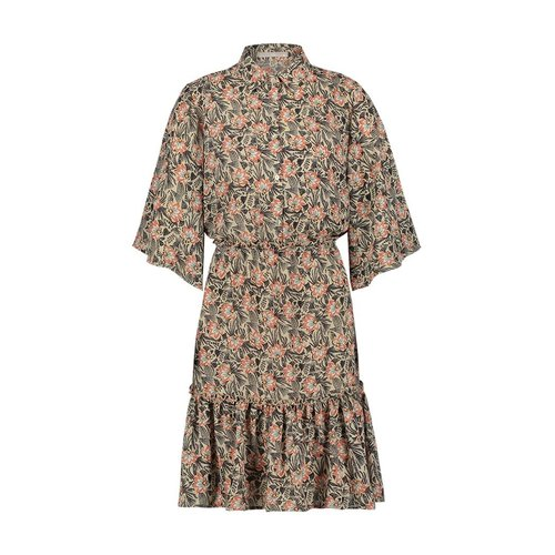 Aaiko Aaiko dress Saria pes 514 Oyster