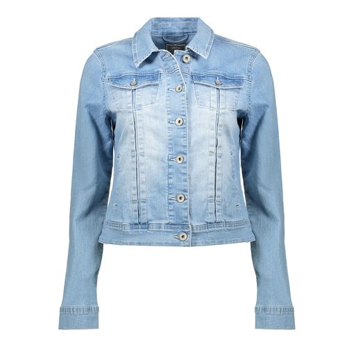 Geisha Geisha jeans jacket 05011-10 bleached denim