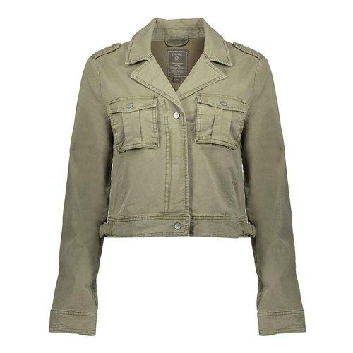 Geisha Geisha jacket short 05003-10 army
