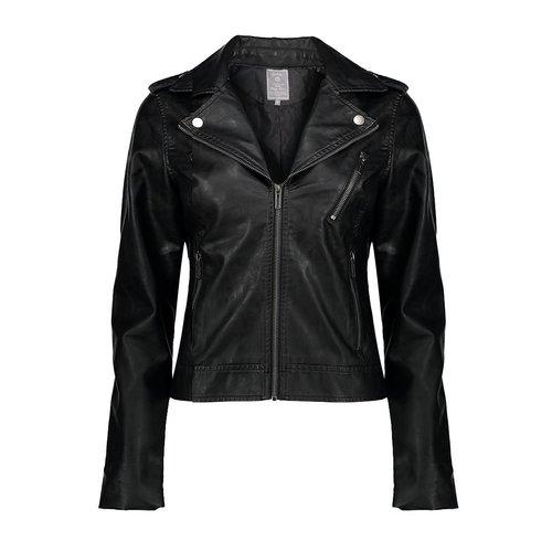 Geisha Geisha jacket with zippers 08020-27