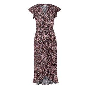 Freebird Freebird Rosy long midi dress pink