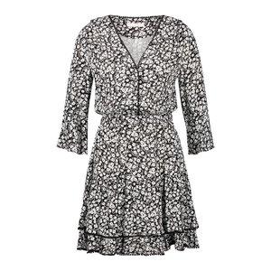 Freebird Freebird Hazel mini dress black white
