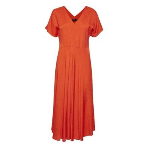 Soaked Soaked Veda dress 30404722 tangerine tango