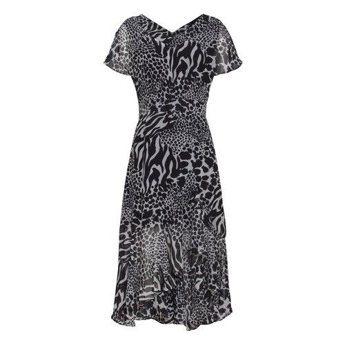 Smashed Lemon Smashed Lemon dress 20002 creme/black