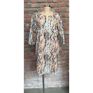 G.Ricceri G.ricceri jurk met v-hals