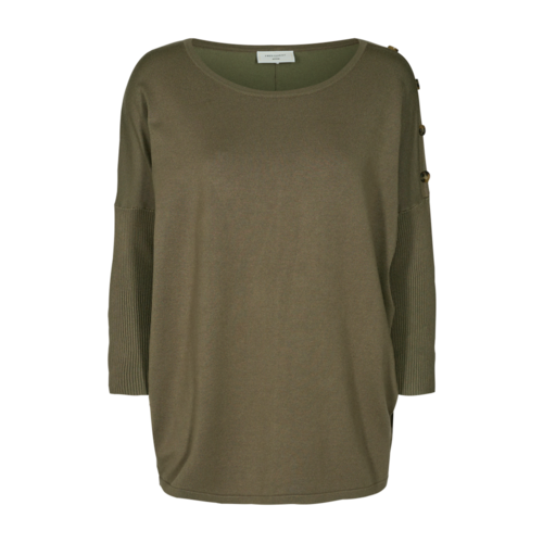 Freequent Freequent top Jone 122356 burnt olive