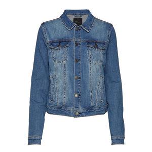 Freequent Freequent spijkerjasje Rock 120167 vintage blue denim