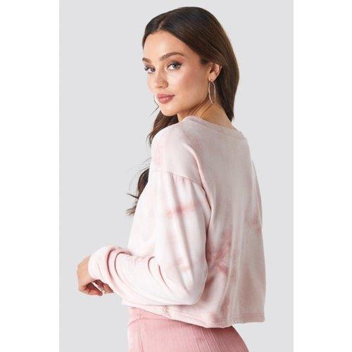 Rut&Circle Rut&Circle Celine short sweater 20-01-35 pink tie dye