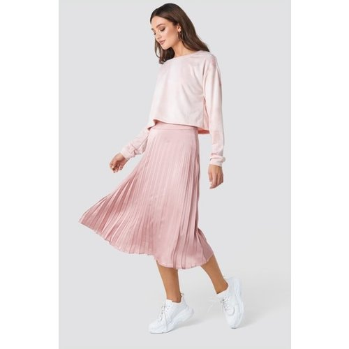 Rut&Circle Rut&Circle Bianca pleated skirt 20-01-36 dusty pink