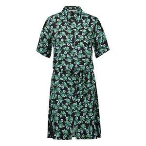 Freebird Freebird Suzy mini dress venice green
