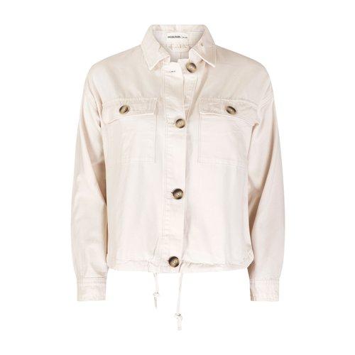 24colours 24Colours jacket 90261a white beige