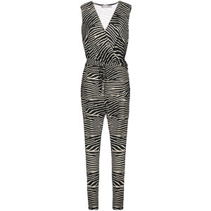 Geisha Geisha jumpsuit 01412-20 black/off-white