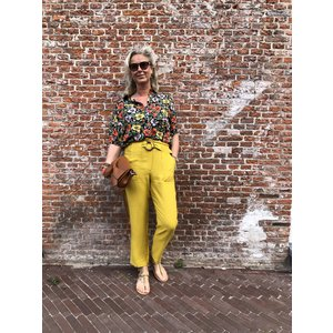 24colours 24Colours pants 60452a yellow