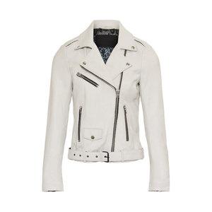 Goosecraft jacket Pearl biker offwhite