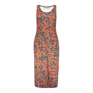 Geisha Geisha dress River 07357-60 coral/navy
