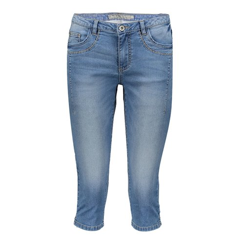 Geisha Geisha 5-pocket capri 01001-10 blue denim