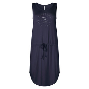 Zoso Zoso 203Angie dress with print navy