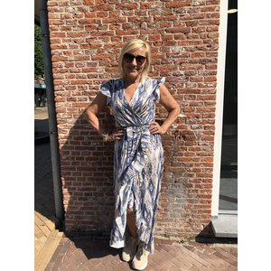 Fos jurk lang Bonnie 2024 wieber jeans