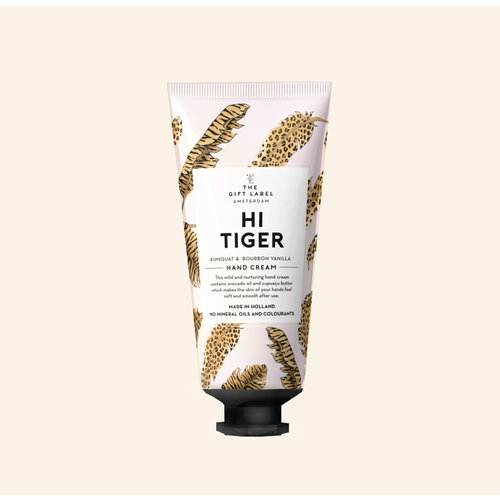 The Gift Label Hand cream tube - Hi tiger - 1212003