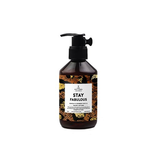 The Gift Label Hand lotion 250 ml - Stay fabulous - 1020002