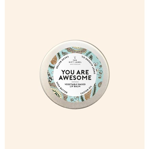 The Gift Label Lip balm - You are awesome - 1213005