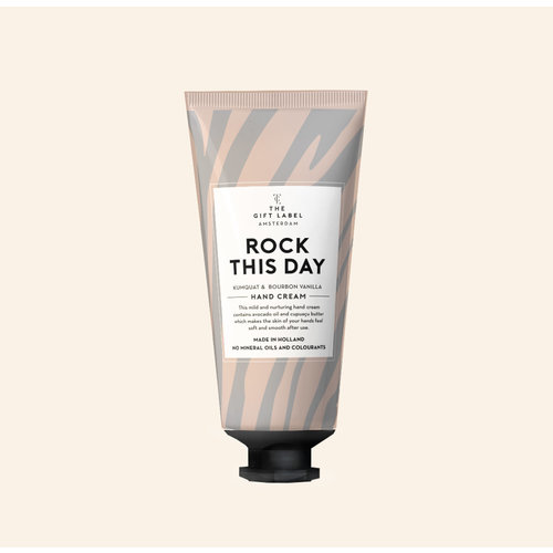 The Gift Label Hand cream tube - Rock this day - 1212004