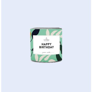 The Gift Label Candle small - Happy birthday - Fresh cotton - 1011766