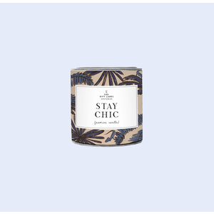 The Gift Label Candle small - Stay chic - Fresh cotton - 1011783