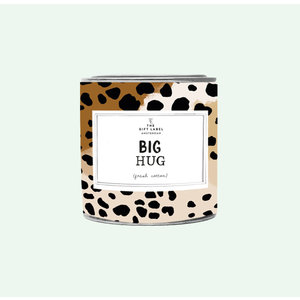 The Gift Label Candle big - Big hug - Jasmine vanilla - 1011673