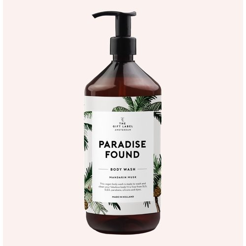 The Gift Label Body wash  - Mandarin musk - paradise - 1012707