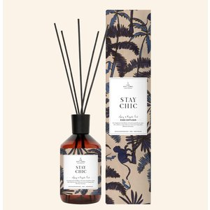 The Gift Label Reed diffusher - Spicy and royal - stay chic - 10123006