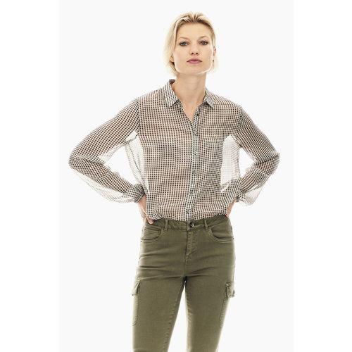 Garcia Garcia blouse T00236 zwart/wit