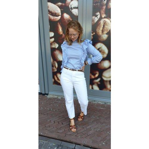 Rut&Circle Rut & Circle blouse Lucy 20-03-32 blue