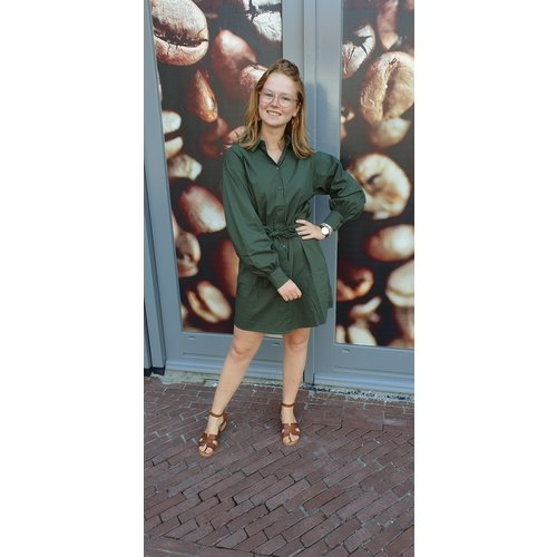 Rut&Circle Rut & Circle dress Lucy 20-03-25 army green