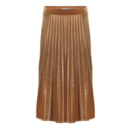 Geisha Geisha skirt velours plisse 06585-60 gold