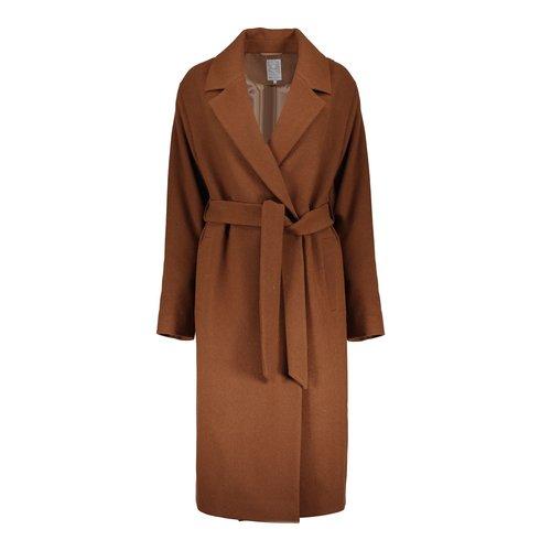 Geisha Geisha long coat wool 08541-12 camel
