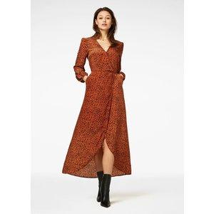 Freebird Freebird maxi dress Ananda rust brown